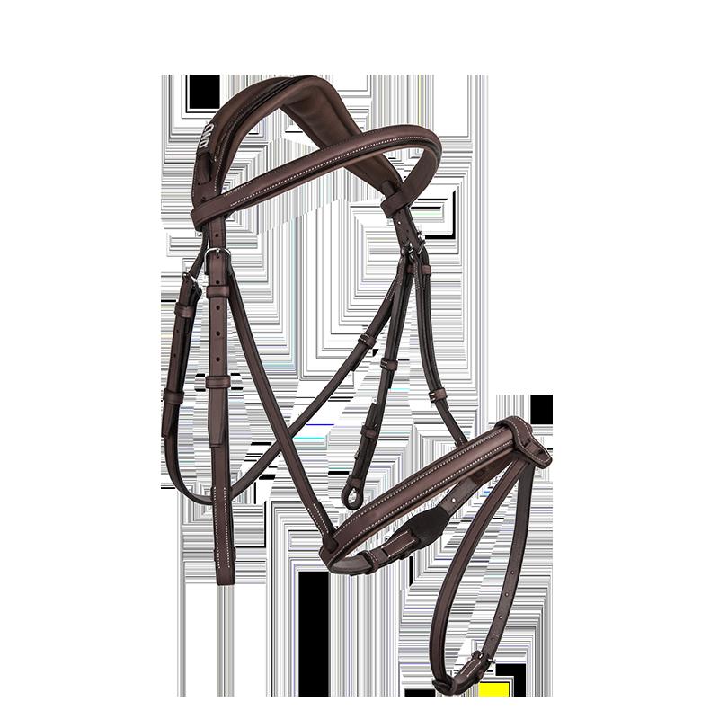 CWD - Anatomic french noseband bridle