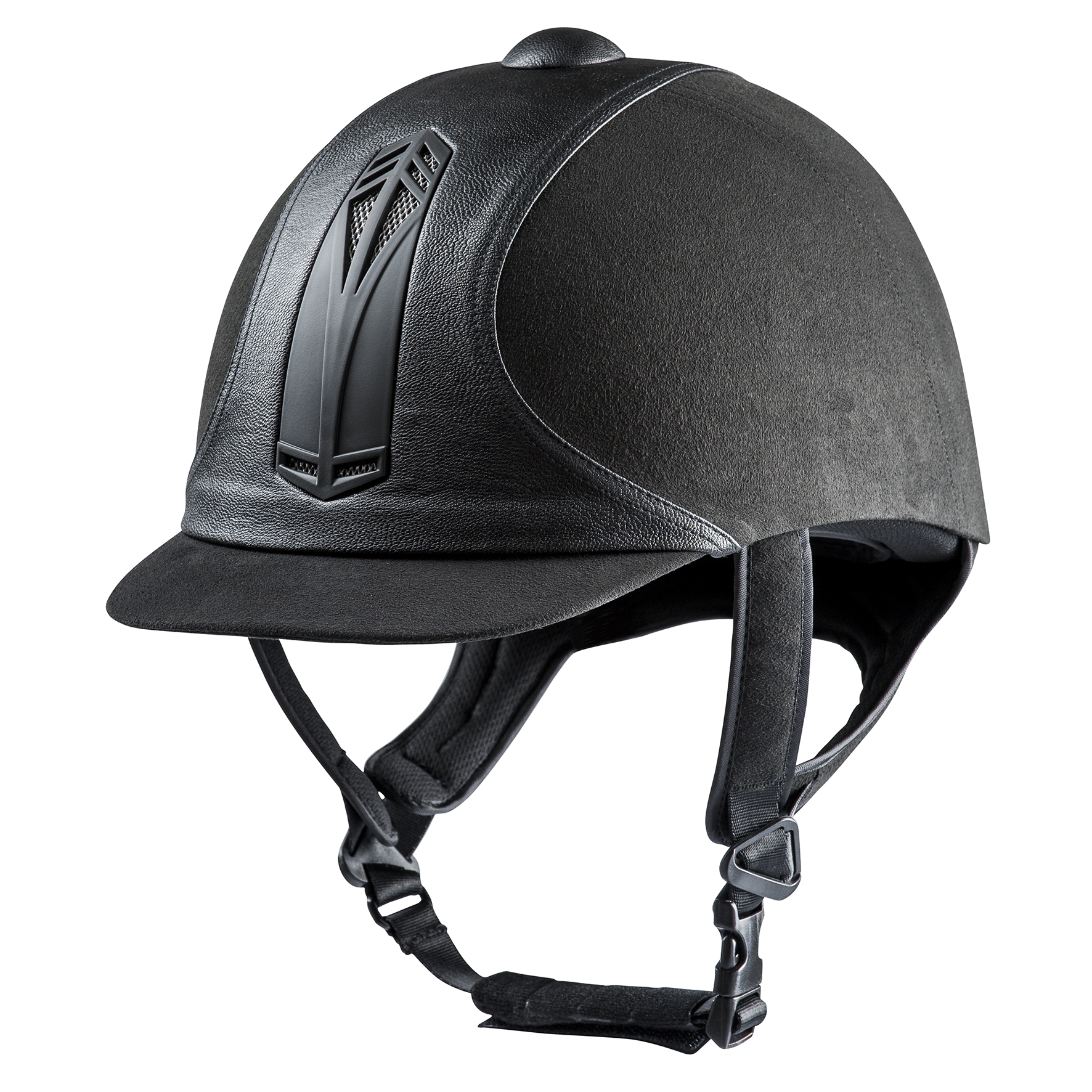 Choplin - Premium noir helmet
