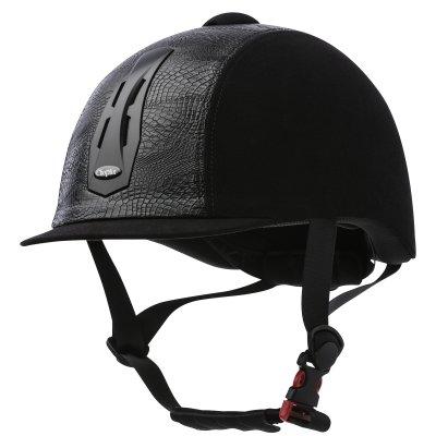 Choplin - Premium black  helmet