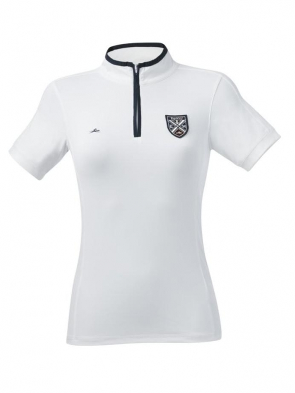 Equithème - Zipped Competition Polo Shirt GIRLS