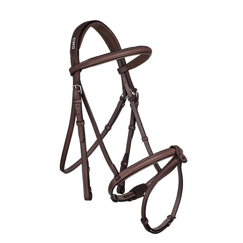 CWD - Raised french noseband bridle