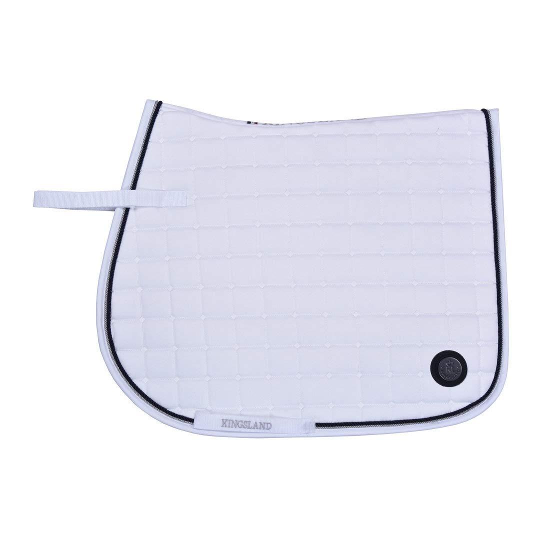 Kingsland  - White Saddle pad White
